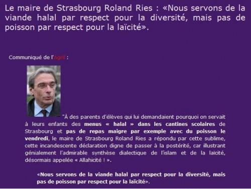 allahicité,laïcité,Strasbourg,hallal