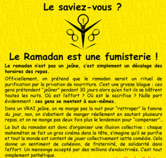 ramadan,fumisterie,internationale